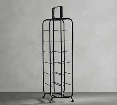 Iron Caddy Tall Wine Rack - Pottery Barn