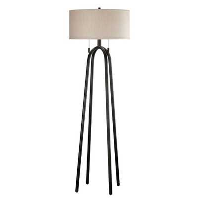 Kenroy Home Quadratic 61 in. Oil-Rubbed Bronze Floor Lamp - Home Depot