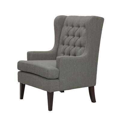 Argenta Button Tufted Wingback Chair - Birch Lane