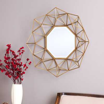 Transitional Metal Frame Accent Wall Mirror - Wayfair