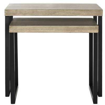Abrianna 2 Piece Nesting Tables - Wayfair