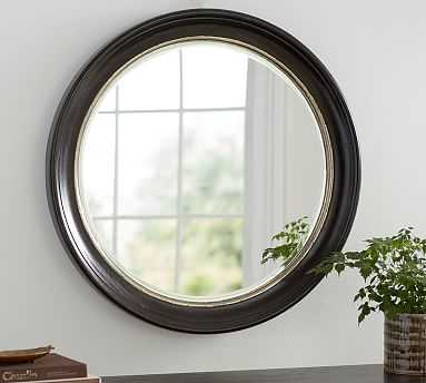 """Brussels Round Mirror, 35.5"""" - Pottery Barn"""