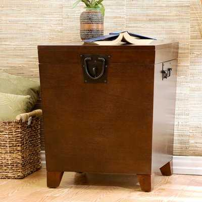 Boneta End Table With Storage - Wayfair