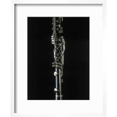 'Close-up of a Clarinet' Framed Graphic Art Print - Wayfair
