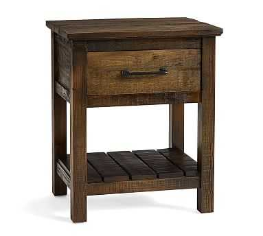 Paulsen Reclaimed Wood Nightstand, Little Creek Brown - Pottery Barn