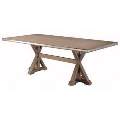 One Allium Way Lampkin Wooden Rectangular Dining Table - eBay
