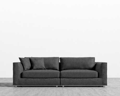 Milo Sofa - Cinder - Rove Concepts