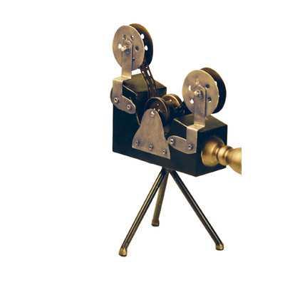 Hollywood Camera Sculpture - Wayfair