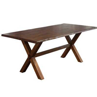 Tiggs Solid Wood Dining Table - Wayfair