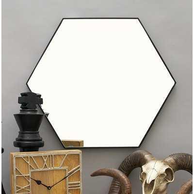 Mcnichols Wood Wall Mirror - AllModern