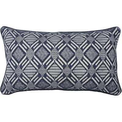 Double Diamond 100% Cotton Lumbar Pillow - Wayfair