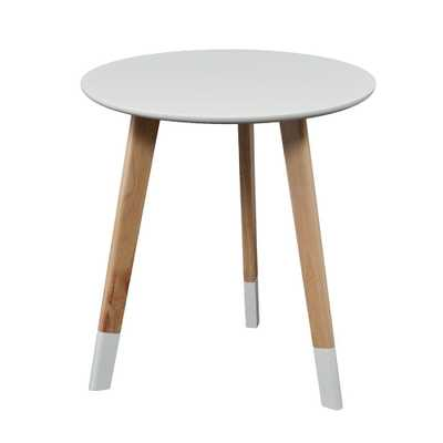 Parker White End Table - Home Depot