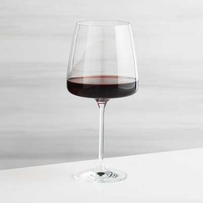 Level Red Wine Glass - Crate and Barrel