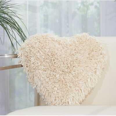 Bressler Heart Throw Pillow - Wayfair