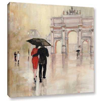 Romanitc Paris II Painting Print on Wrapped Canvas - Wayfair