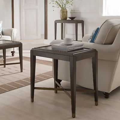 Contemporary Brown finish Narrow Accent Table - eBay