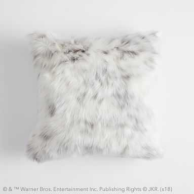 HARRY POTTER(TM) Faux-Fur HEDWIG(TM) Pillow Cover, 18 x 18, Multi - Pottery Barn Teen