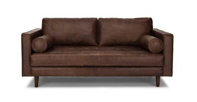 "Sven Charme Chocolat 72"" Sofa - Article"