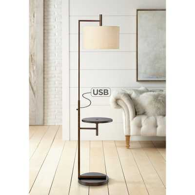 Mesa Tray Table Floor Lamp with USB Port - Style # 35M98 - Lamps Plus