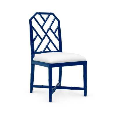 JARDIN SIDE CHAIR, NAVY BLUE - Bungalow 5