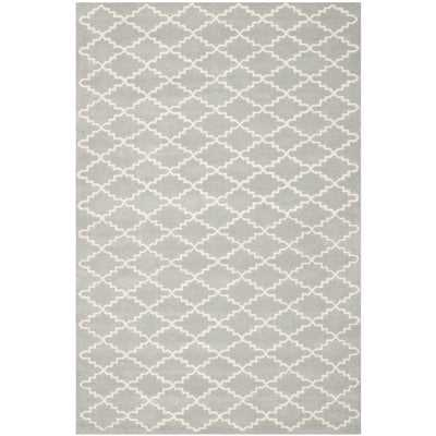 Wilkin Grey / Ivory Rug - Wayfair