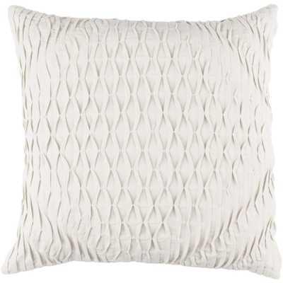 Arbutus Poly Euro Pillow, Ivory - Home Depot
