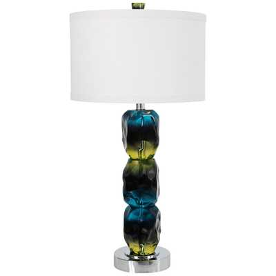 Van Teal Oceana Blue and Green Table Lamp - Style # 44E52 - Lamps Plus