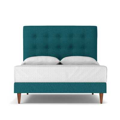 Palmer Drive Upholstered Bed - Chicago Blue / Queen - Apt2B