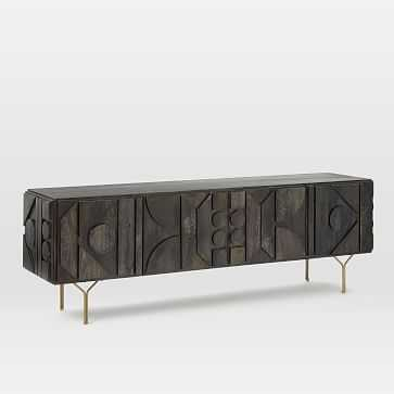 "Pictograph Media Console 84"" - West Elm"