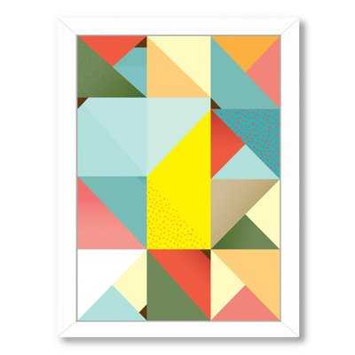 Pattern 6 Framed Graphic Art - Wayfair