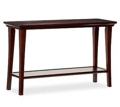 Metropolitan Console Table, Espresso stain - Pottery Barn