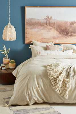 Tasseled Padma Duvet Cover - TWIN - Anthropologie