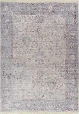 """Marrion Grey Modern Vintage Floral Rug: 7'10"""" x  9'6"""" - eBay"""