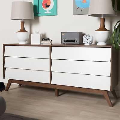 George Oliver Birchfield 6 Drawer Double Dresser - eBay