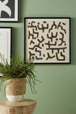 Bogolan Text Wall Art - Anthropologie