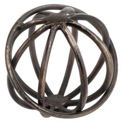 Bronze Giro Sphere Figurine - AllModern