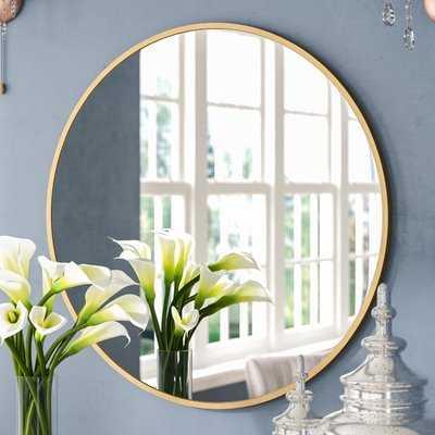 Katsikis Round Accent Wall Mirror - Wayfair