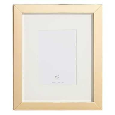 Metallic Gallery Frames, 5x7, Gold - Pottery Barn Teen
