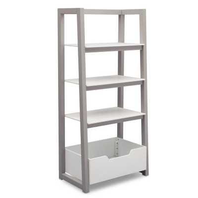 Grey Ladder Shelf, Gray - Home Depot