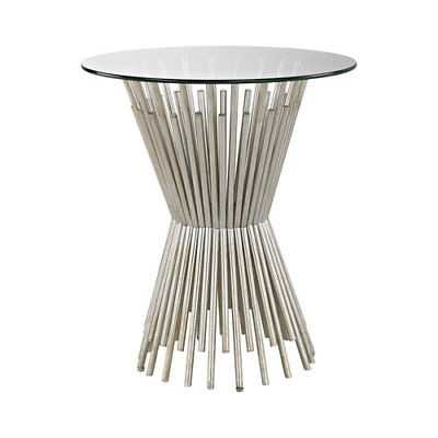 Dimond Home Brussels Champagne Gold Side Table - 1114-232 - eBay