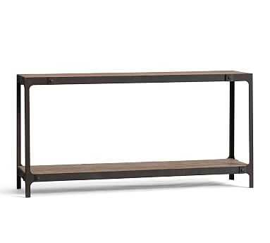 Clint Reclaimed Wood Console Table - Pottery Barn