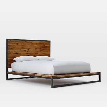 Logan Bed- King, Natural - West Elm