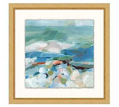 "Sea Petals Framed Print, 20 x 20"" - Pottery Barn"