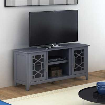 Clarion Gray TV Stand for TVs up to 60 in. - Home Depot