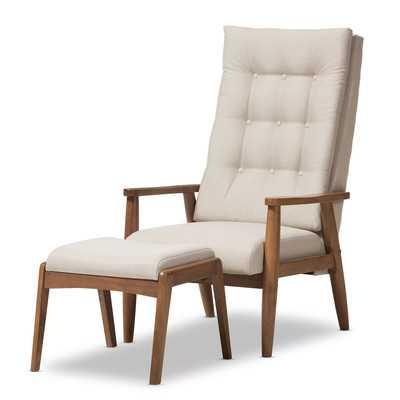 Rio Lounge Chair and Ottoman - Wayfair