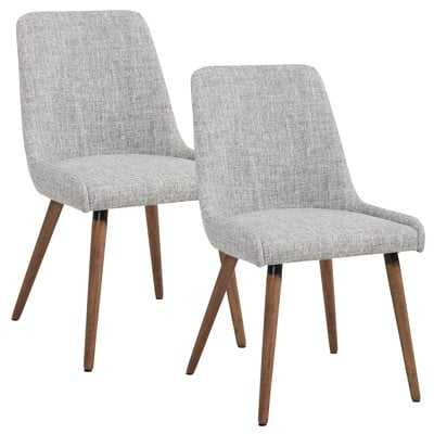 Upholstered Dining Chair (Set of 2) - Wayfair
