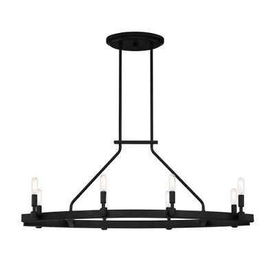"Designers Fountain 92538 Fiora 8 Light 36"" Wide Chandelier - eBay"