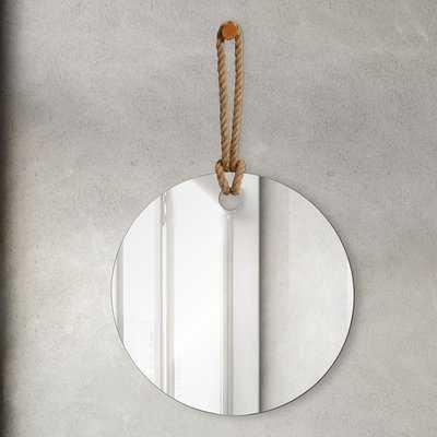 Piritta Unframed Round Accent Wall Mirror - Wayfair