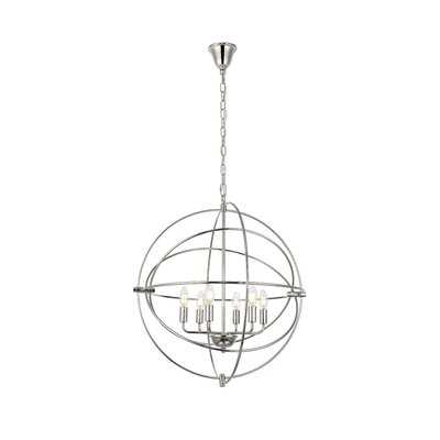 Hamby 6 - Light Globe Chandelier - AllModern