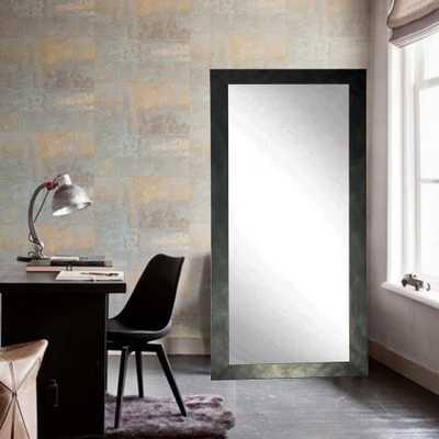 Brandtworks Clouded Gunmetal Tall Floor Mirror - Home Depot